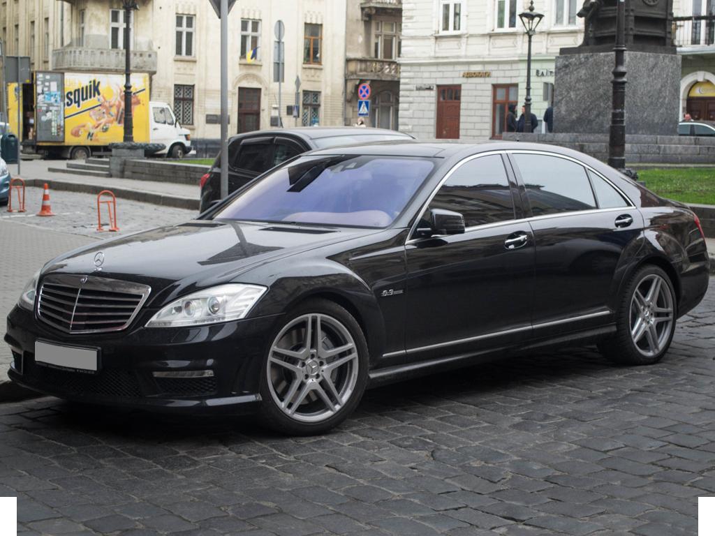 Mercedes S 221 Long
